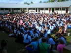 assembly at Tonga High School