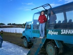 Jen and the Unimog