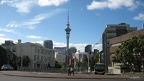 Sky Tower from the University of Auckland