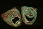 Ceramic Tragedy and Comedy Masks (61)