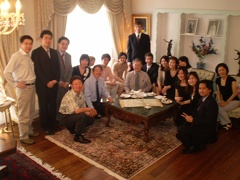 At the Japanese Consulate Reception