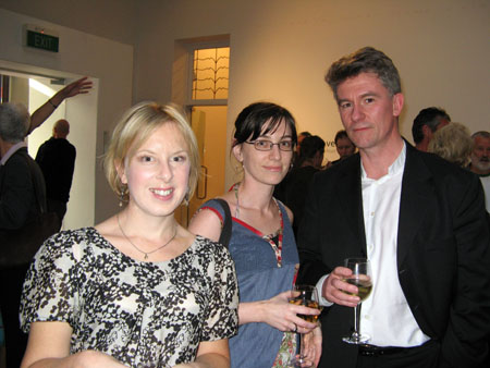 Cherie Lacey, Anna Jackson and Duncan Petrie